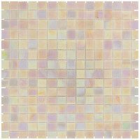 Mozaiektegel Amsterdam Light Pink Pearl Glass 322x322