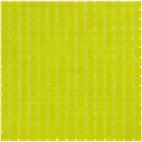 Mozaiektegel Amsterdam Supher Yellow – Silk Silk Glass 322x322