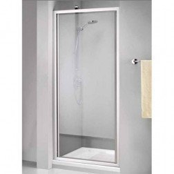 Douchedeur Sealskin Get Wet 110 Swingdeur 70x190cm Mat Zilver Chinchilla Glas