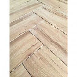 Tegel Greatstone Keramisch Parket Real Wood Beige 15x60