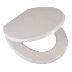 Toiletbril AWD Softclose Toiletzitting 43.4x37.3cm MDF Wit
