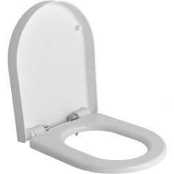 Toiletbril Clou First Softclose en Quickrelease Toiletzitting 36x42x4.8cm Wit